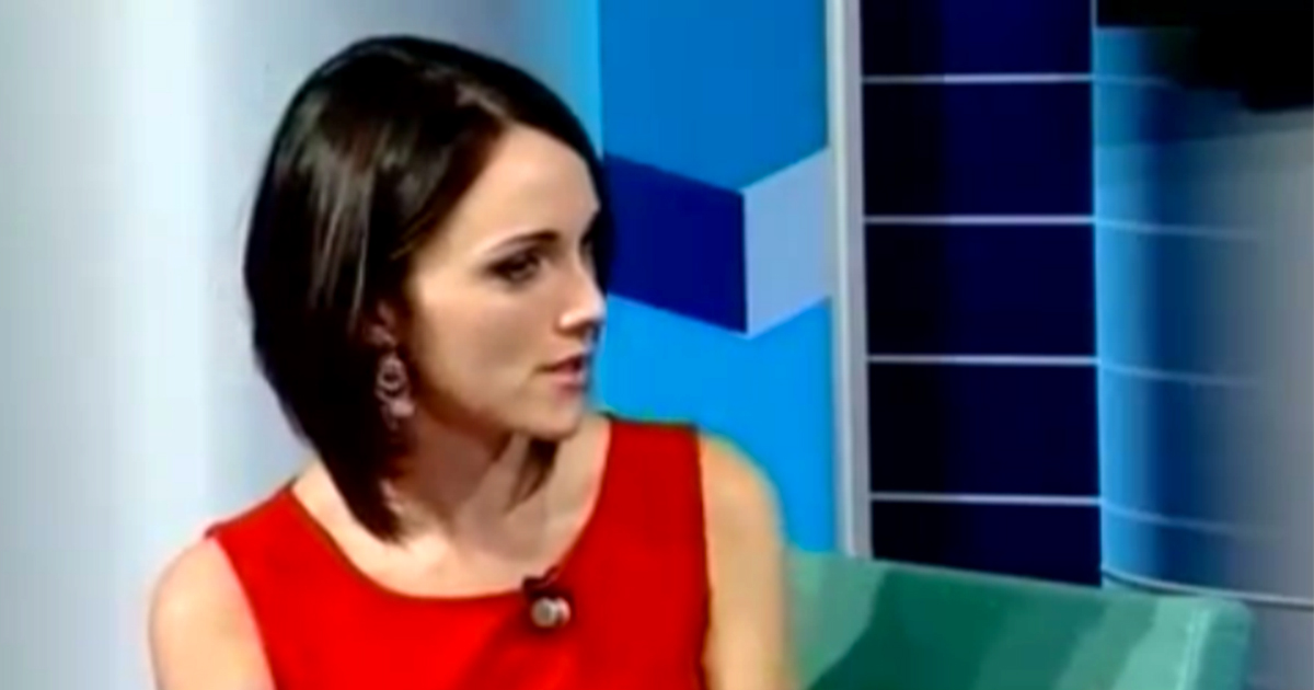 Lidia Di Blasio Presentatrice TV