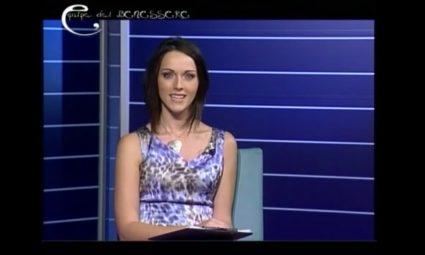 Lidia Di Blasio Presentatrice TV Equipe del Benessere TV6