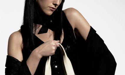 Lidia Di Blasio Fotomodella Testimonial RIPANI Bags & Accessories