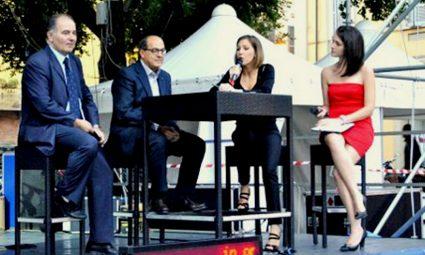 Lidia Di Blasio Presentatrice TV La Notte dei Ricercatori