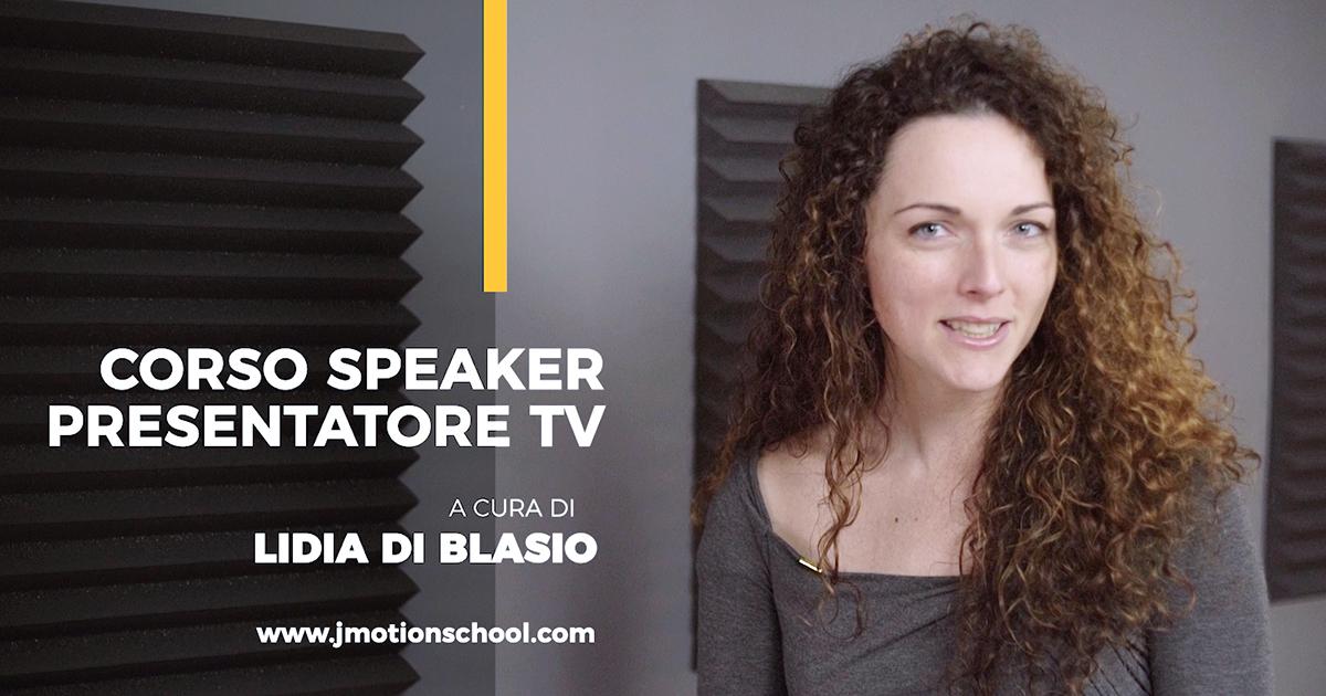 corso dizione speaker presentatore tv Lidia Di Blasio